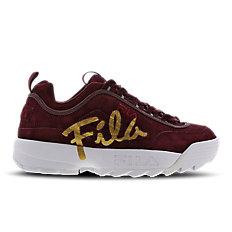 Fila Disruptor II Script Distressed - Women Shoes
