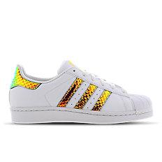 adidas superstar iridescent 3d - pre school shoes