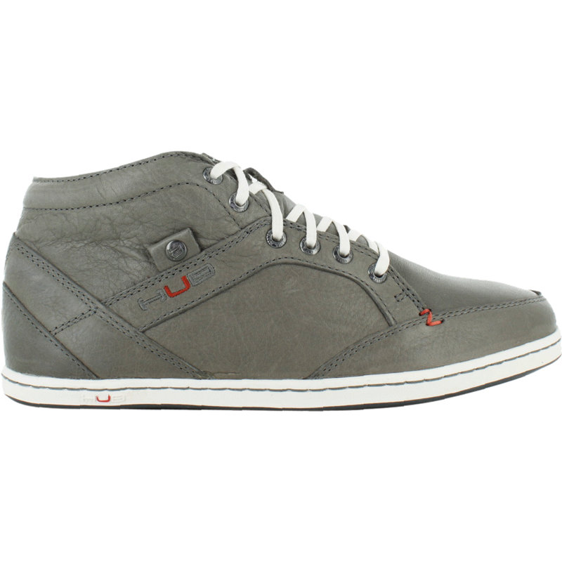 neu hub kingston herren sneaker freizeit schuhe turnschuhe grau ebay. Black Bedroom Furniture Sets. Home Design Ideas