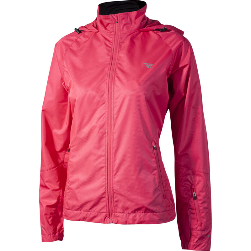 neu rp jacket damen laufjacke pink jogging jacke kapuze. Black Bedroom Furniture Sets. Home Design Ideas