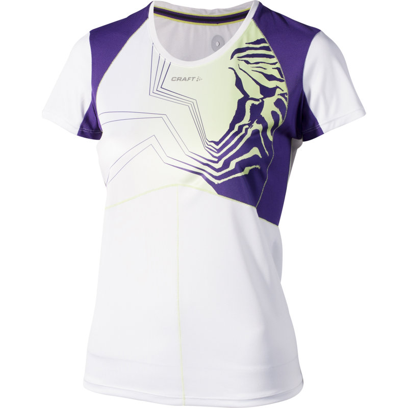 NEU-Craft-Performance-Run-Sublimated-Damen-Laufshirt-Kurz