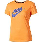 Nike Running CHALLENGER SWOOSH RUN DAMEN LAUFSHIRT KURZ product photo
