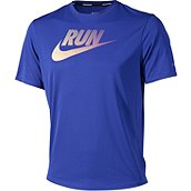 Nike Running CHALLENGER SWOOSH RUN HERREN LAUFSHIRT KURZ product photo