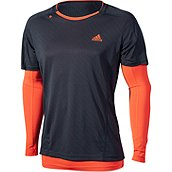 adidas SEQUENTIALS 2 IN 1 HERREN LAUFSHIRT LANG product photo