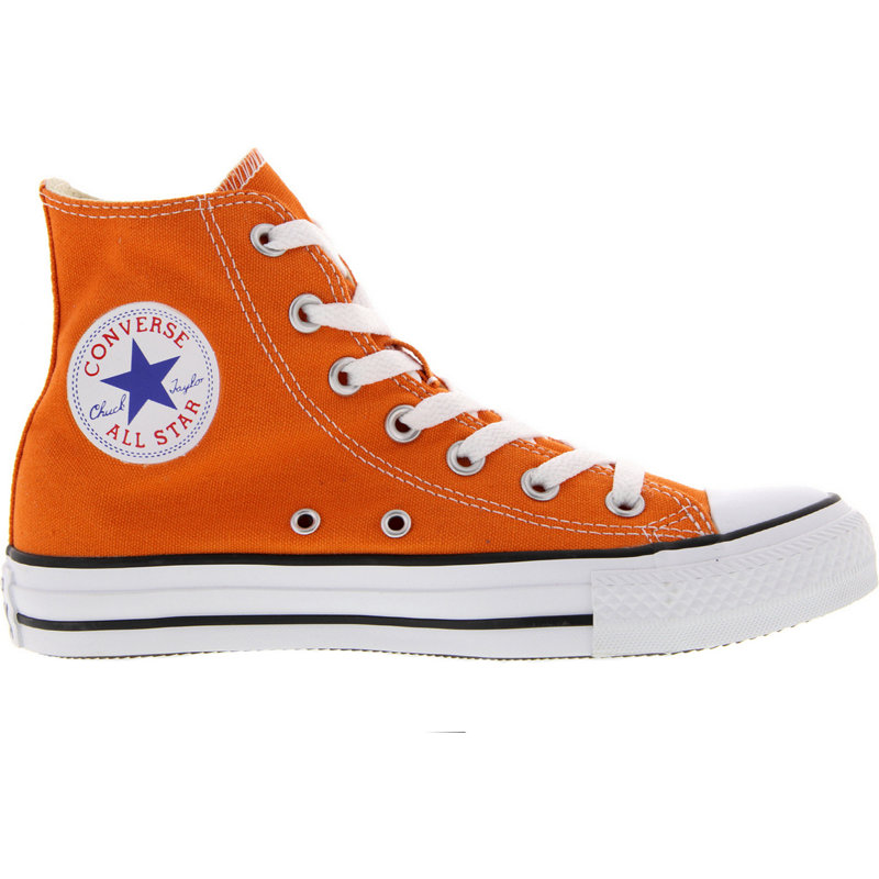 NEU-Converse-Chuck-Taylor-All-Star-High-Unisex-Freizeitschuhe-Orange