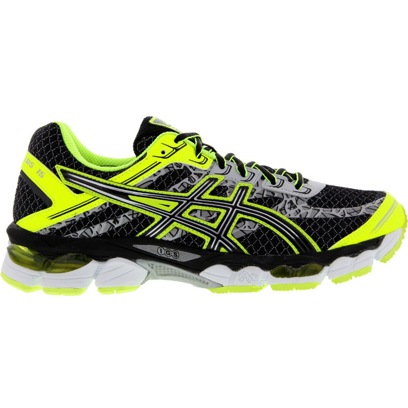 neu asics gel cumulus 15 lite show herren laufschuhe schwarz ebay. Black Bedroom Furniture Sets. Home Design Ideas