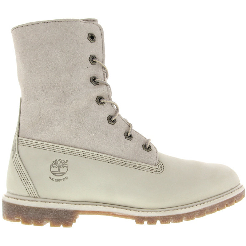NEU-Timberland-Authentics-Teddy-Fleece-WP-Fold-Down-Damen-Winterboots-Weiss