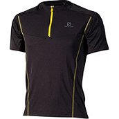 Salomon PACE ZIP HERREN LAUFSHIRT KURZ product photo
