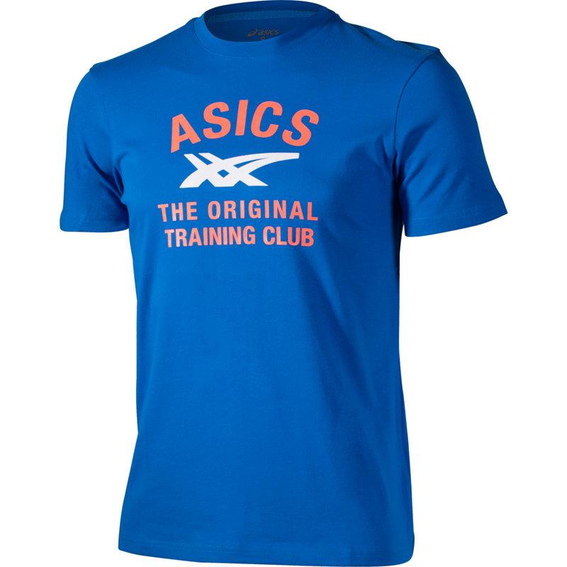 NEU-Asics-Short-Sleeve-Graphic-Tee-Herren-Freizeitshirt-Blau
