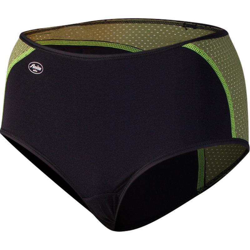 NEU-Anita-Sport-Panty-Damen-Laufhose-Kurz-Gruen