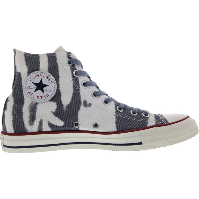 neu converse chuck taylor hi music damen herren freizeitschuhe grau. Black Bedroom Furniture Sets. Home Design Ideas
