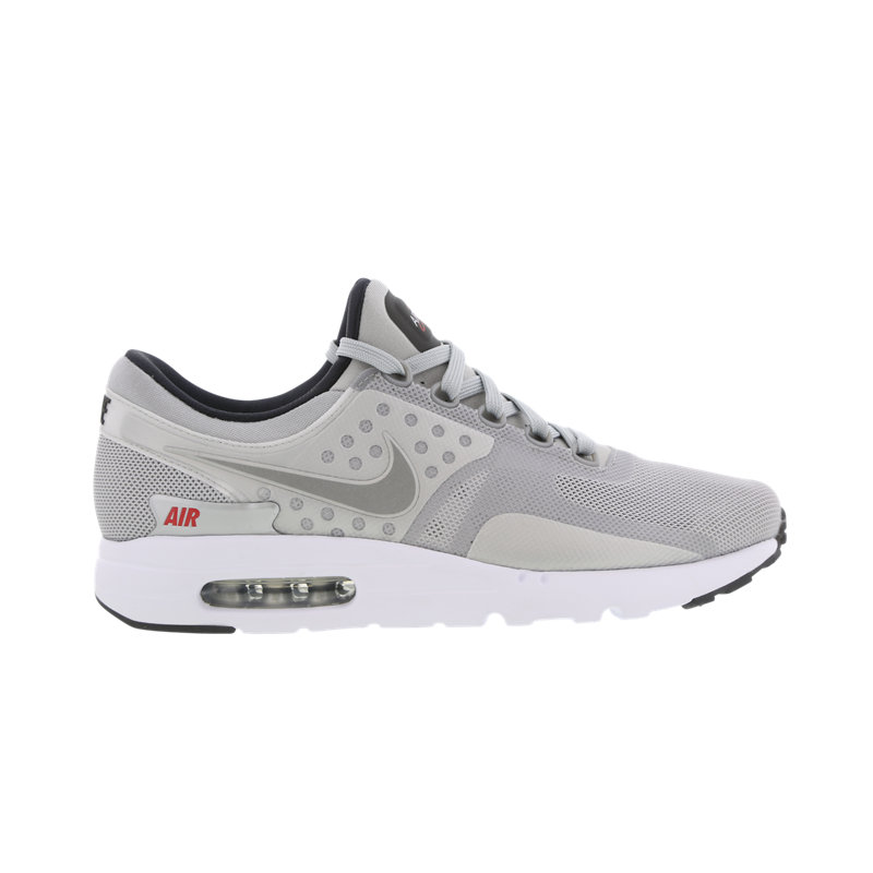 Nike Air Max Zero herensneaker zilver