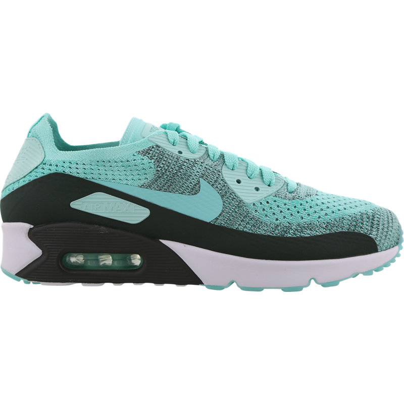 the best attitude c2359 a35de Nike Air Max 90 Ultra 2.0 Flyknit Mens Shoe - Green  875943-301   FOOTY.COM