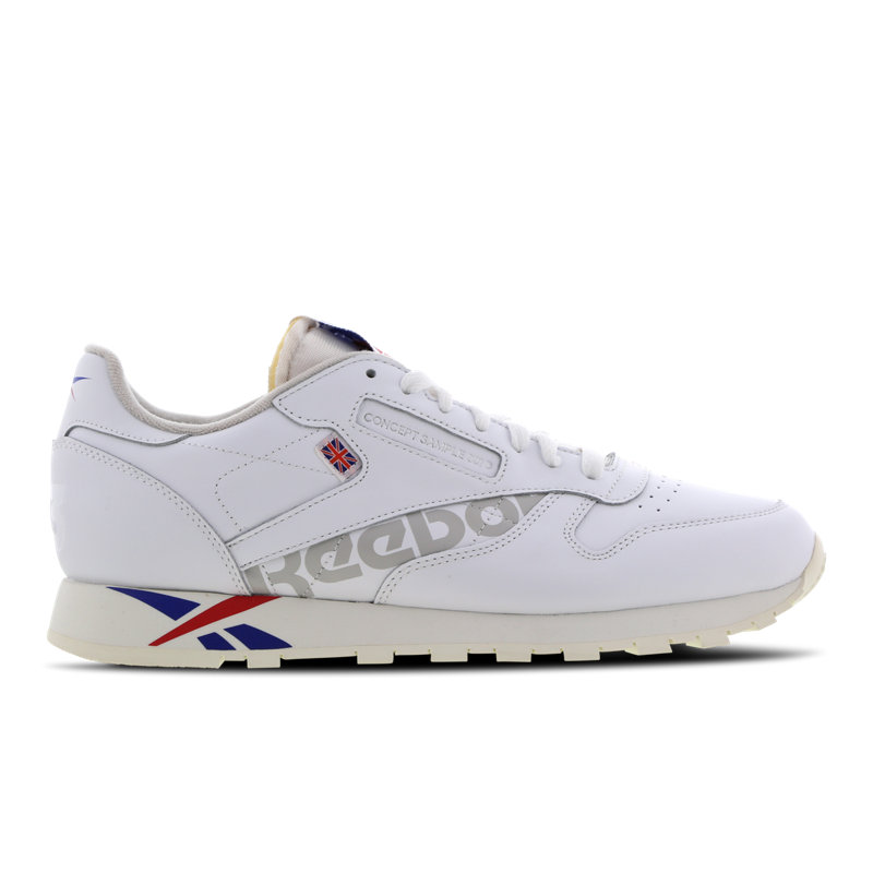 Reebok Classic Leather herensneaker wit