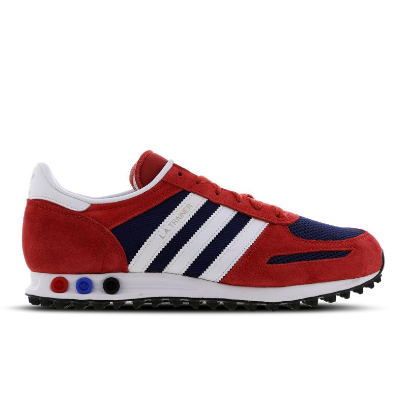 Adidas LA Trainer herensneaker rood