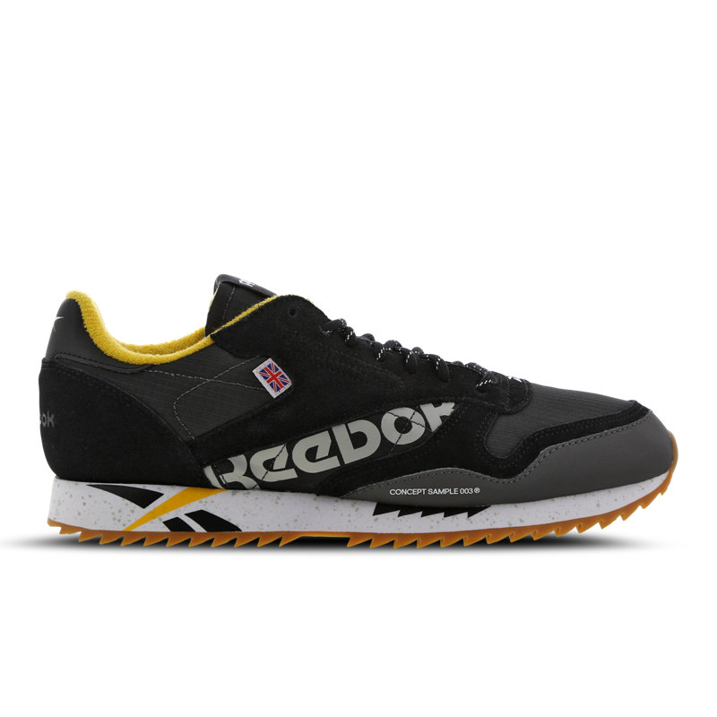 Reebok Classic Leather herensneaker zwart