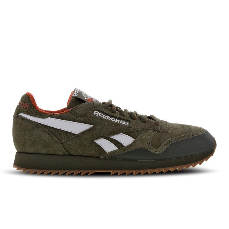 Reebok Classic Leather herensneaker groen