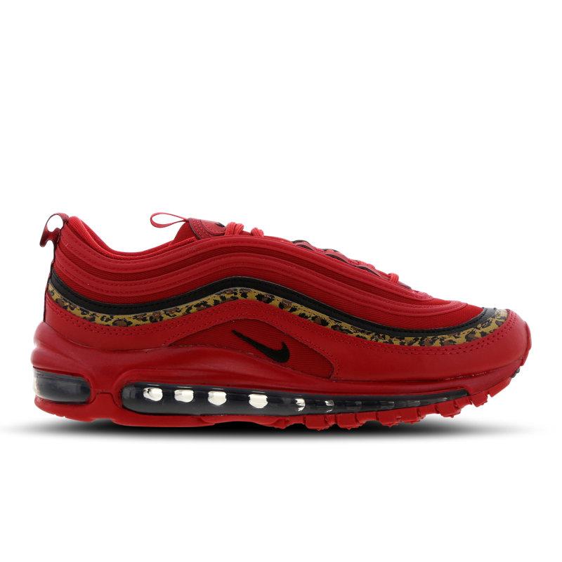 Nike Air Max 97 damessneaker rood