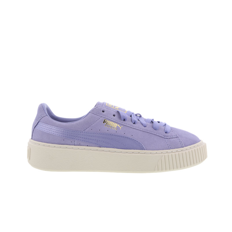puma suede platform satin women shoes bluewater. Black Bedroom Furniture Sets. Home Design Ideas