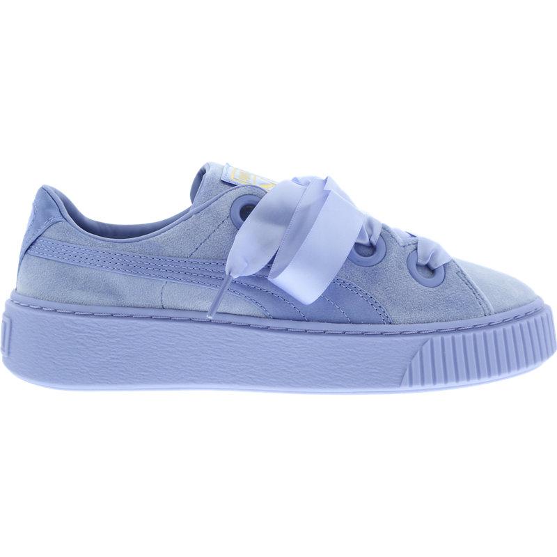 f324ee96fc6f Puma Platform Kiss Velvet - Women Shoes - Female First Shopping