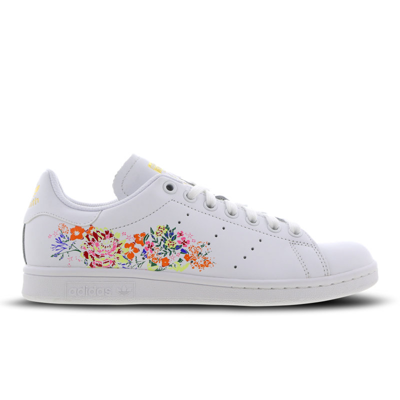adidas Stan Smith Flower Embroidery - Women Shoes