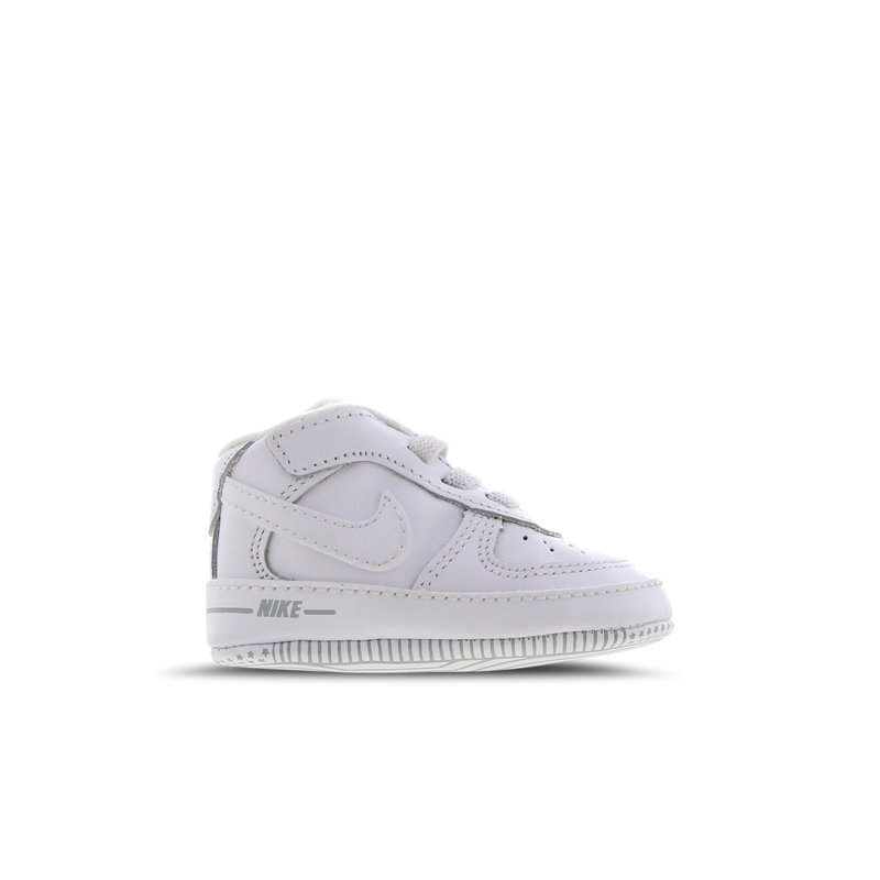 Nike Air Force 1 babysneaker wit