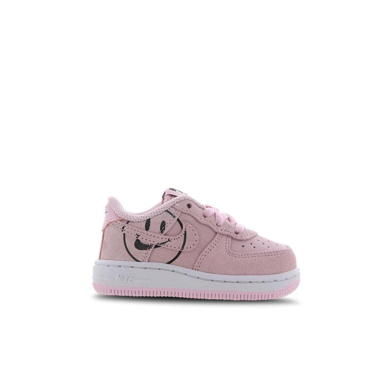 Nike Air Force 1 babysneaker roze