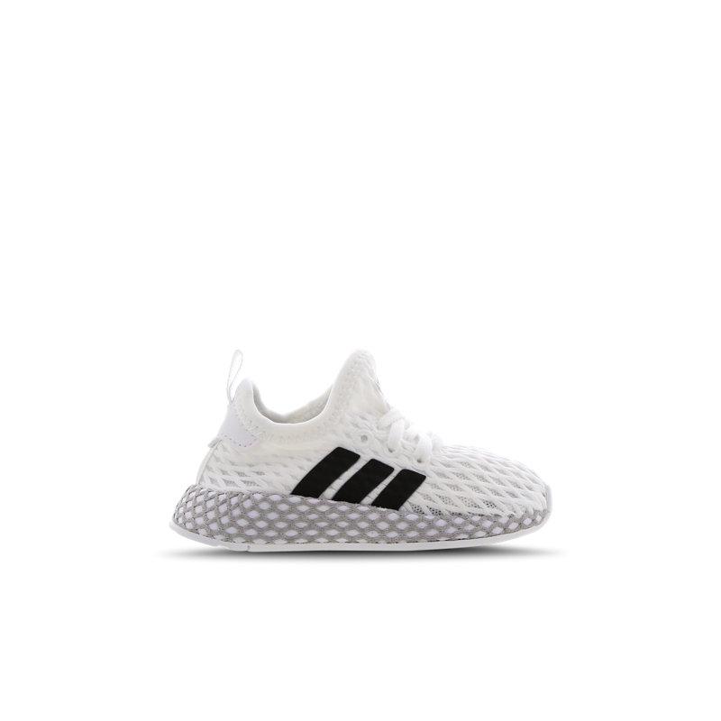 Adidas Deerupt babysneaker wit