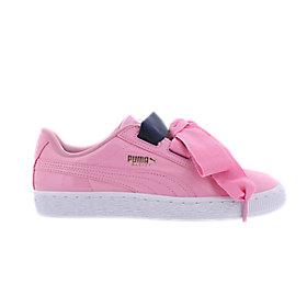 puma schuhe mit schleife rosa