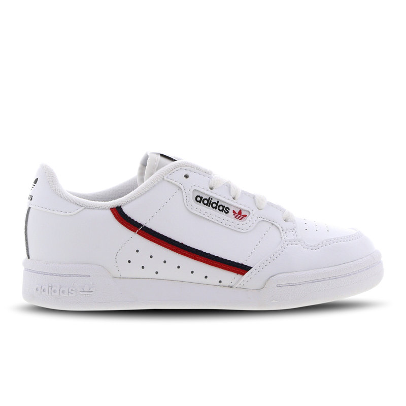 Adidas Continental 80 kindersneaker wit