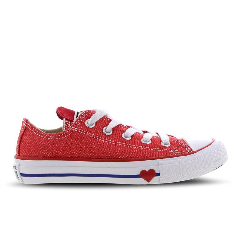 Converse Chuck Taylor kindersneaker rood