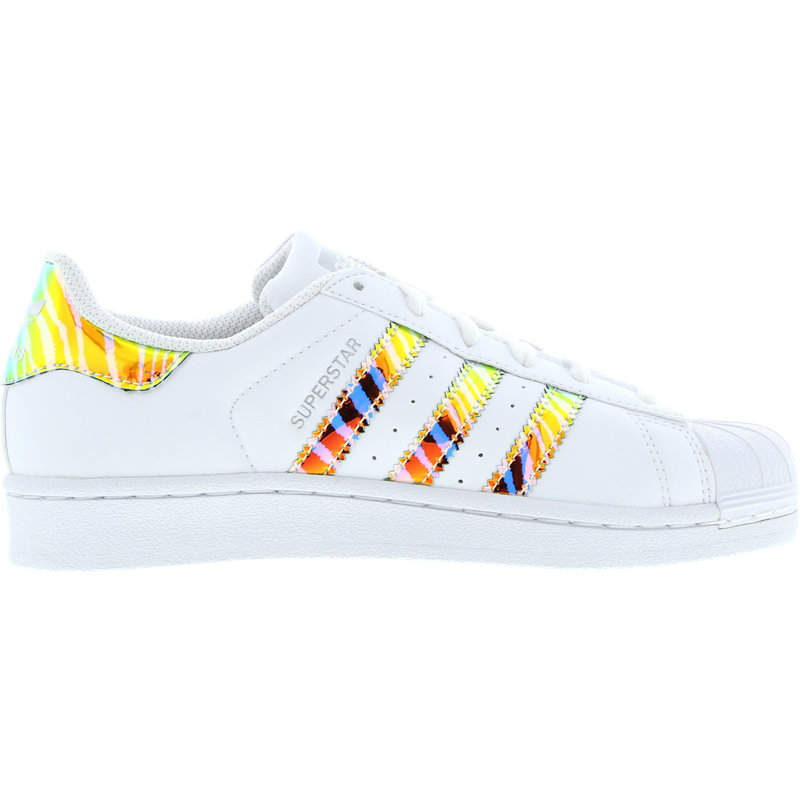 adidas superstar iridescent - grade school shoes