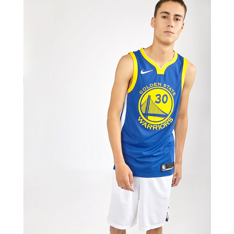 Nike Nba Golden State Warriors Curry Authentic ...