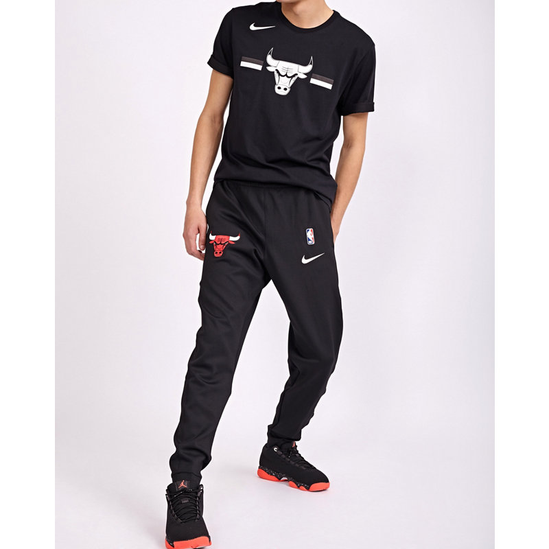 Nike Nba Chicago Bulls Thermaflex Showtime - Heren Broeken