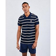 Adidas Trefoil Stripe   Men Polos by Adidas
