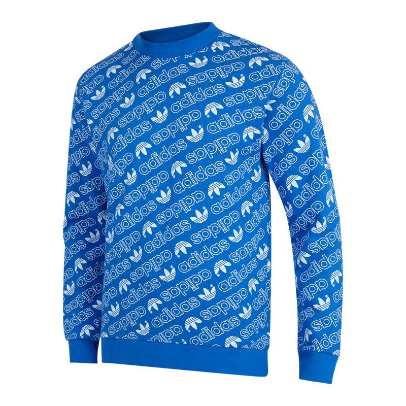 adidas All Over Print Crew - Men Sweatshirts