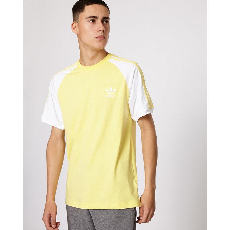 adidas adicolor 3-Stripes - Herren T-Shirts | Bekleidung > Shirts > Sonstige Shirts | Yellow | adidas