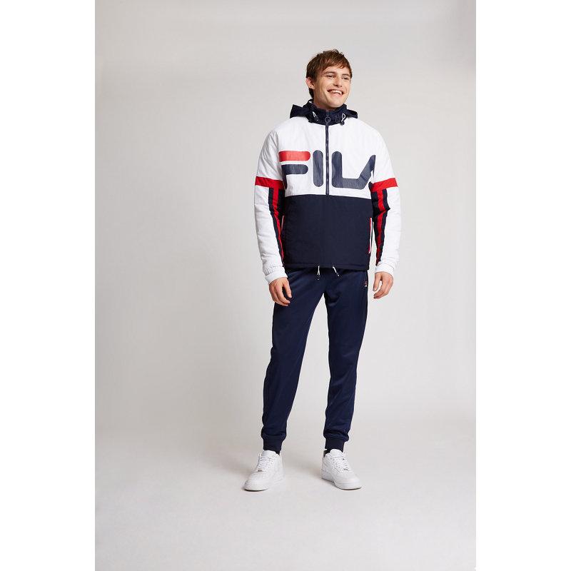 Fila Biker Puffer - Herren Jackets   Bekleidung > Jacken > Bikerjacken   White   Fila