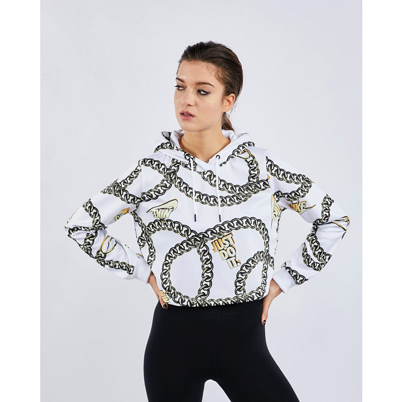 Nike Glam Dunk Over The Head Crop - Damen Hoodies | Bekleidung > Sweatshirts & -jacken > Hoodies | Nike