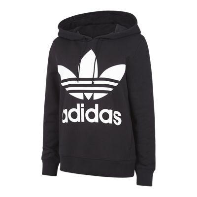 Sweatshirt & Hoodie im Sale - adidas adicolor Trefoil - Damen Hoodies