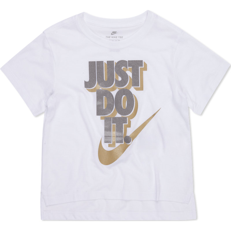 94cc9847 Nike Nsw Hilo Metallic Just Do It Short Sleeve - Pre School T-Shirts Image
