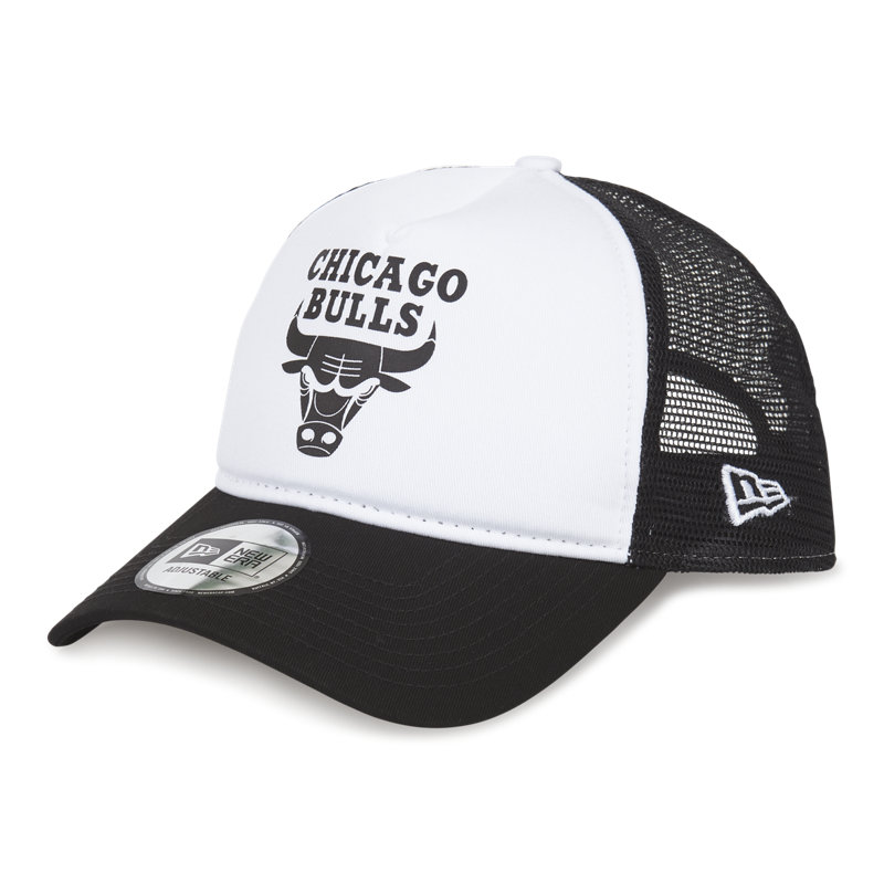 New Era Throwback Chicago Bulls Trucker - Unise...