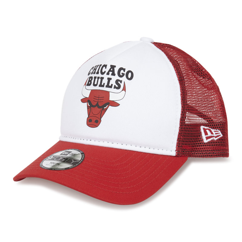 New Era Throwback Kids Chicago Bulls Trucker - ...