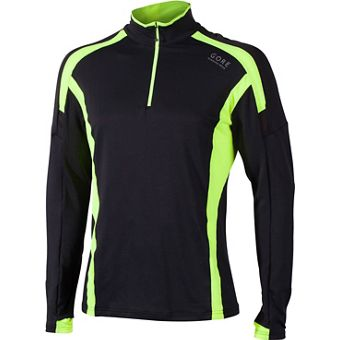 GORE RUNNING WEAR AIR 1/2 ZIP LONGSLEEVE SHIRT - Herren Laufshirts Sale Angebote Guteborn