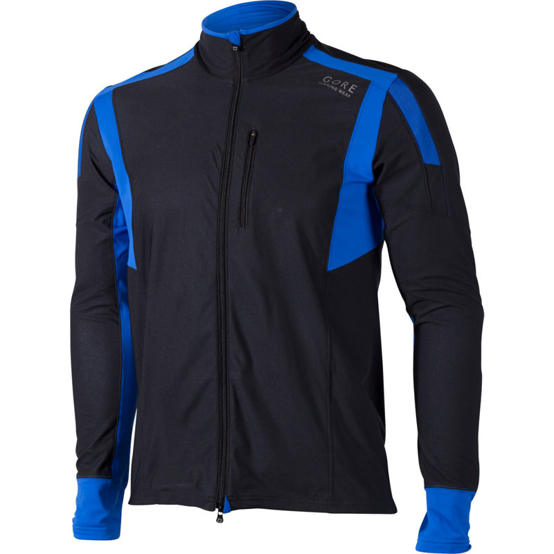 GORE RUNNING WEAR AIR WINDSTOPPER SHIRT LONG - Herren Laufjacken & -westen