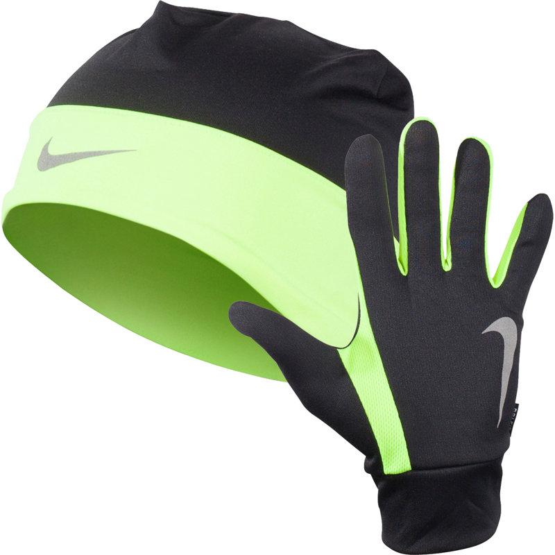 Nike DRI-FIT BEANIE/GLOVE SET - Herren Caps & Mützen