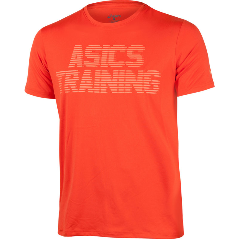 Asics GRAPHIC SHORT SLEEVE TOP - Herren Sport Shirts & Tops