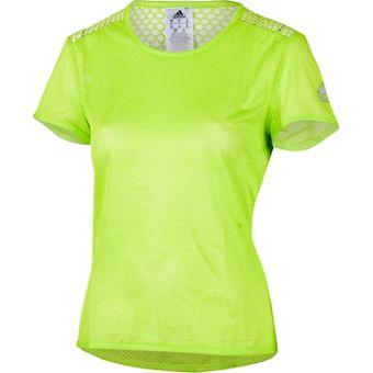 adidas CLIMACOOL SHORT SLEEVE TEE - Damen Laufshirts