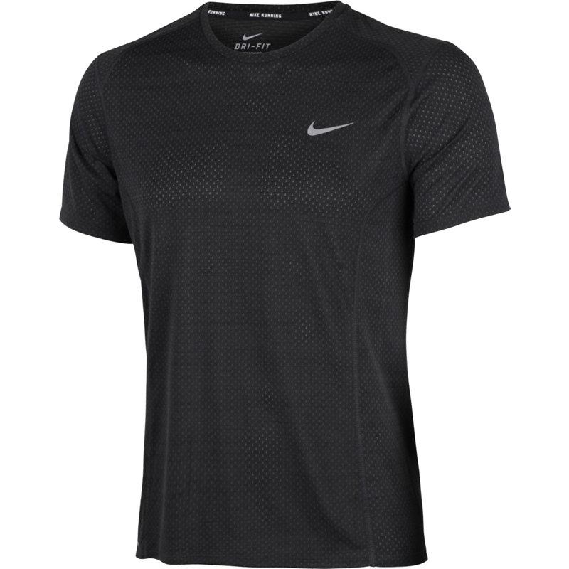 Nike DRI-FIT COOL MILER SHORT SLEEVE TEE - Herren Laufshirts