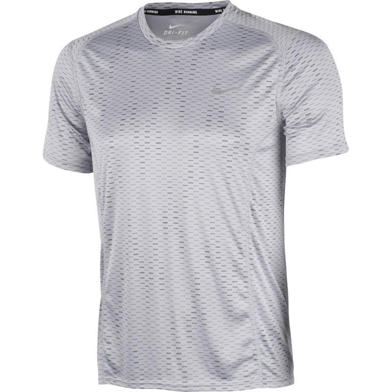 Nike DRI-FIT MILER FUSE SHORT SLEEVE SHIRT - Herren Laufshirts